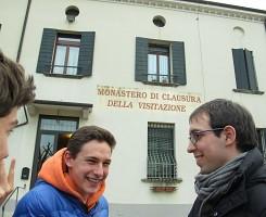 Pellegrinaggio al monastero della Visitazione