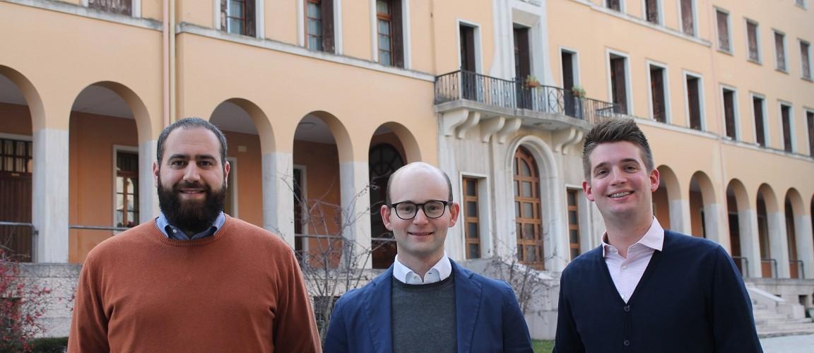 Conferimento ministeri a Federico, Marco e Gabriele