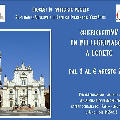 Ad agosto chierichettiVV in pellegrinaggio a Loreto