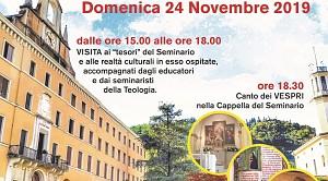 Domenica 24 novembre: Seminario aperto!